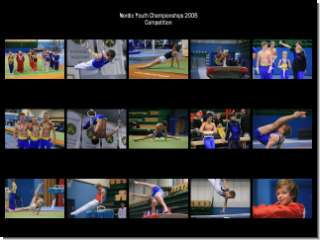 Gymnastics: Nordic Championships Competition