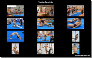 Gymnastics: Training Camp Italy