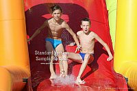 Photo Shoot: Vadim and Den in the Waterpark